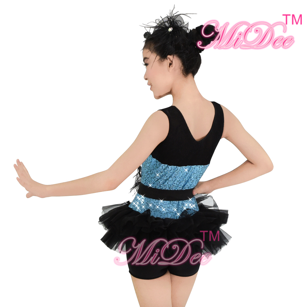 987c70cc9ba0 Leotard Sequins Jazz Dance Costumes Hip Hop Dance Costumes Girls ...
