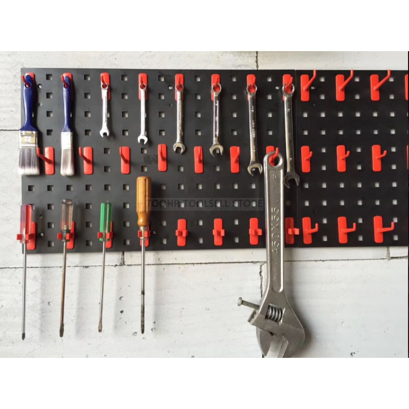 Steel Wall-Mounted Tool Parts Storage Box Garage Unit Shelving 8