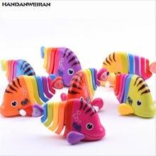 Новинка 1 шт заводные игрушки красочная модель детские заводная