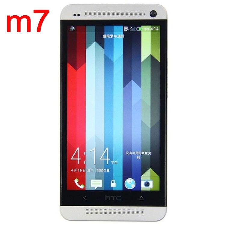 Цена за ЕС версия Оригинальный HTC One M7 Мобильного телефона Android 4.2 32 ГБ Quad core 4.7 ''Refurbished Разблокированный телефон