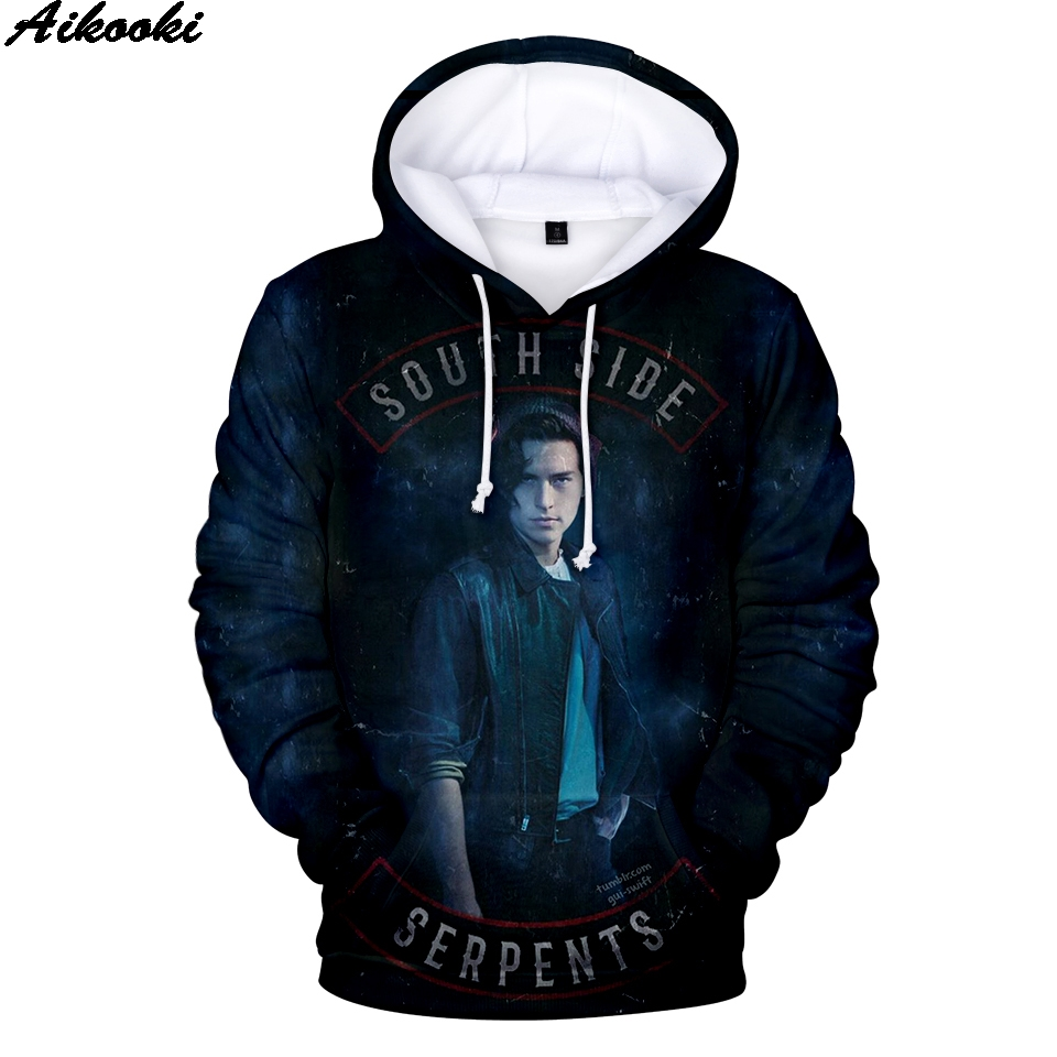 Riverdale 3D Print Hoodies Boy/Girl 3D Print Riverdale Clothing Hip Hop Fashion Hooded Sweatshirts Men's Streetwear