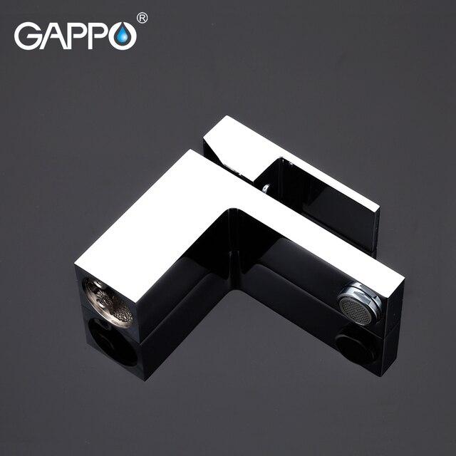 Grifo de lavabo GAPPO, grifo mezclador de lavabo de latón, grifo mezclador de agua, grifo de cascada de baño