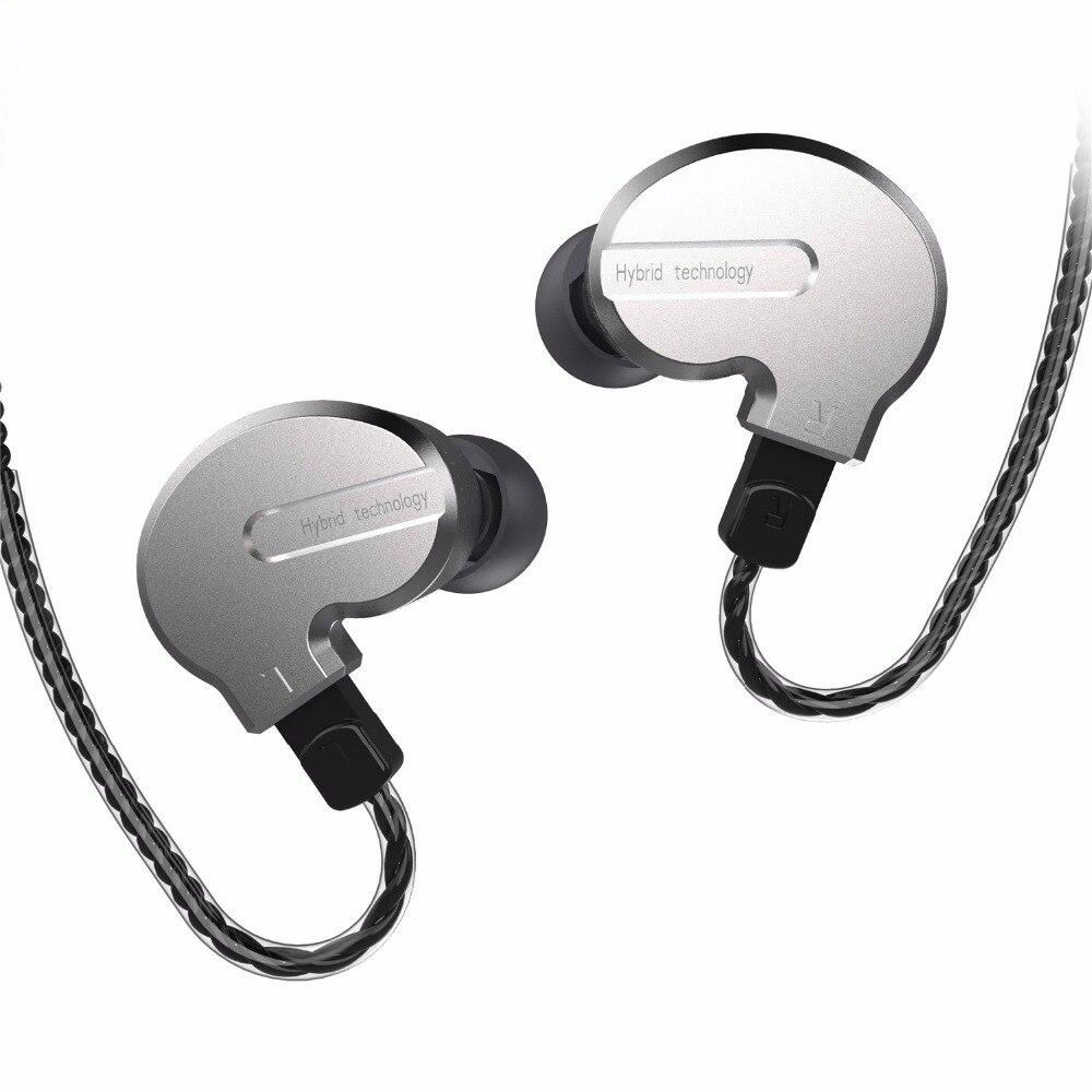 BQEYZ KB1 1BA+2DD Hybrid Dynamic In Ear HIFI Earphones Monitor Earbud Bass Running Sport Earphone Earplug Headset Earbud new original qkz kd8 super hifi bass in ear music earphone with double dynamic unit driver running sport earplug headset earbud