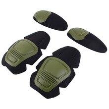 G2G3 pad del Ginocchio Tattico Gomito pad per militare Airsoft uniforme Vestiti Esercito militare tattico uniforme da combattimento di airsoft attrezzature