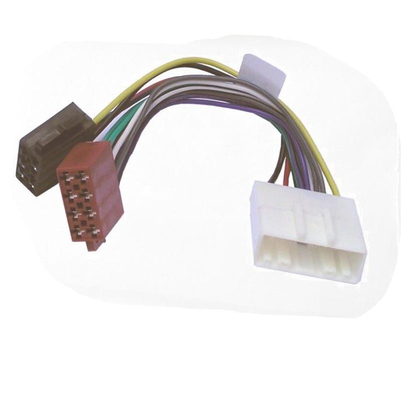 Iso Lead Stereo Radio Wiring Harness Adaptor Connector Loom For Nissan Murano Pulsar Micra Tiida Cii: Nissan Murano Radio Wiring At Satuska.co