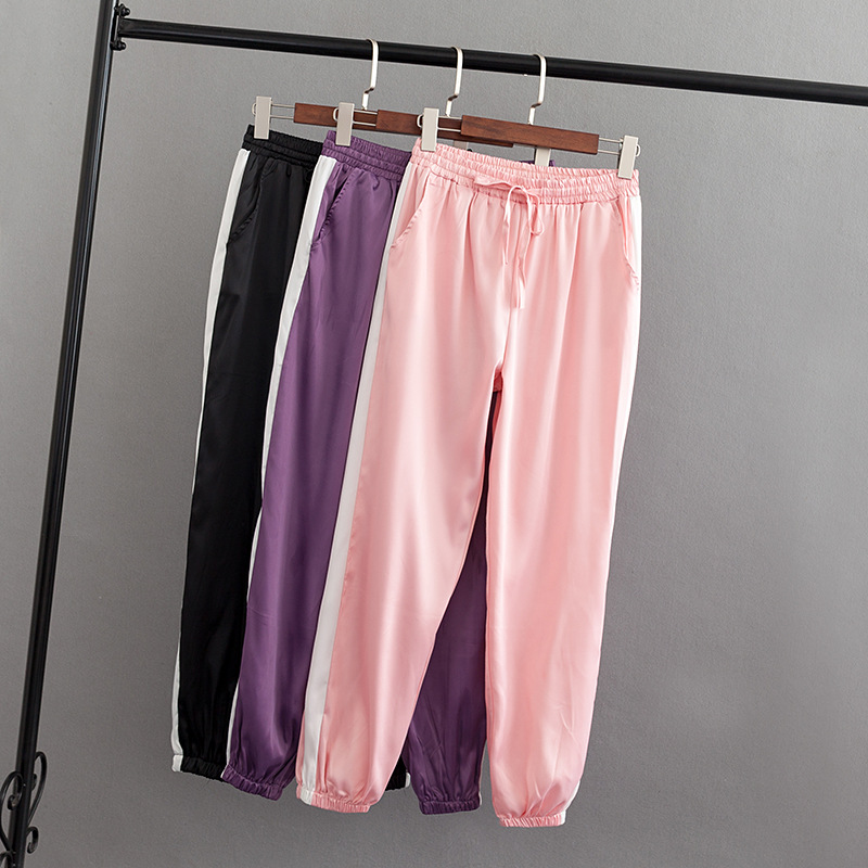 Pants 5XL Women Clothing Ankle-Length Plus-Size Casual Fashion Winter Autumn Loose S75