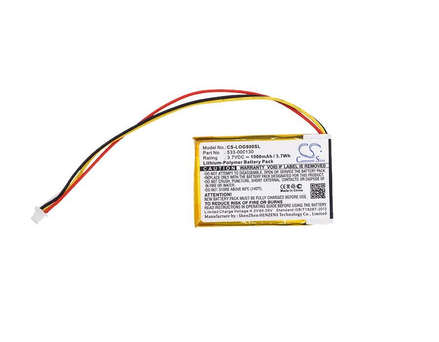 Cameron Sino 1000 mAh Bateria 533-000130 para Logitech G403, G900