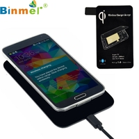 Novelty Scientific Qi Standard Wireless Charger Receiver For Samsung Galaxy S5 I9600 G900 Charging Pad Top