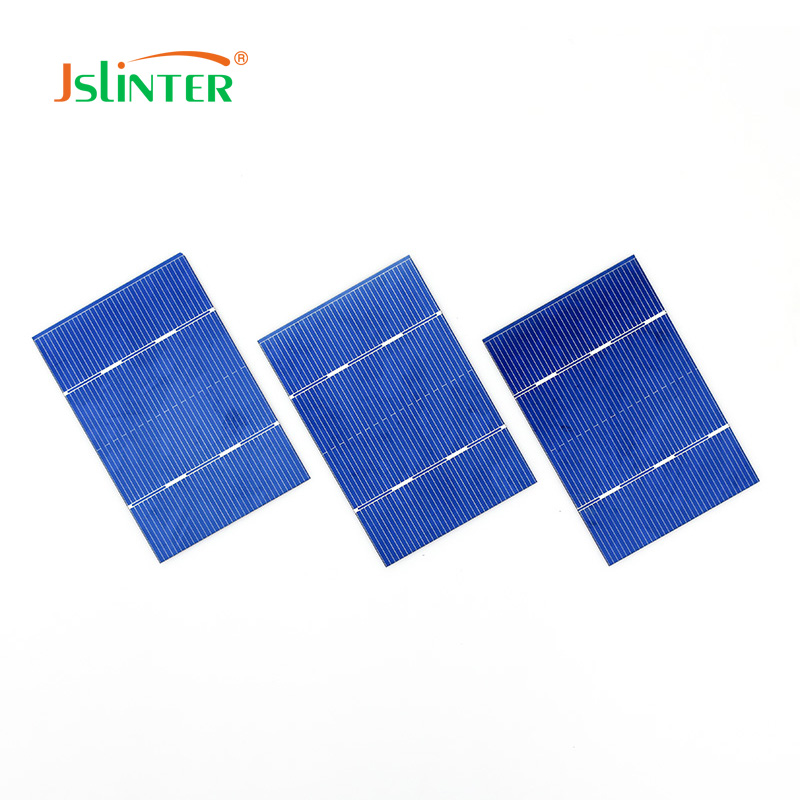 Solar Cells 50 pcs Diy 12v Solar Panel Module China Price Cheap Poly Cell With 2 Pcs Diode Direct Selling 78x52 0.75w