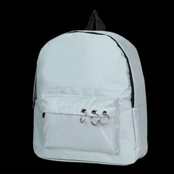 9265P New Female Cartoon Backpacks School Bags Travel Rivets Woman Fashion Backpack все цены