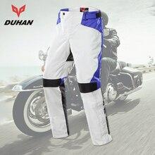DUHAN Motorcycle Pants Men Moto Pants Winter Keep Warm Moto Racing Motocross Outdoor Motobike Leisure Pants Two Knee Protector