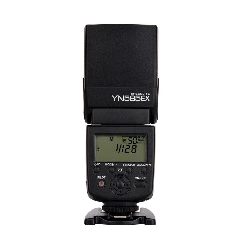 YONGNUO YN585EX P-TTL Wireless Flash TTL Speedlite for Pentax DSLR Cameras yn e3 rt ttl radio trigger speedlite transmitter as st e3 rt for canon 600ex rt new arrival