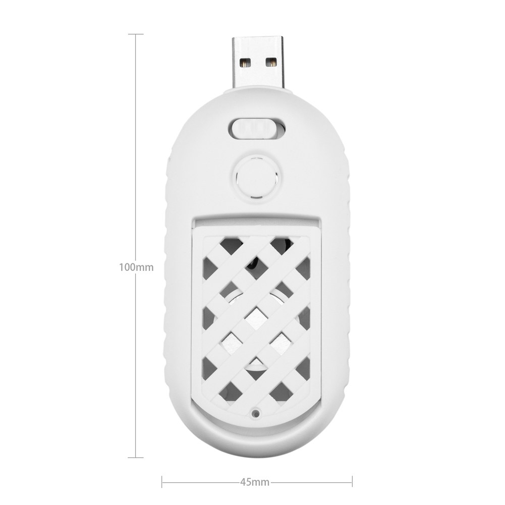 Ultrasonic Pest Portable USB Mosquito Killer Outdoor Home Electronic Insect Bug Reject Rat Mouse Repellent XH8Z