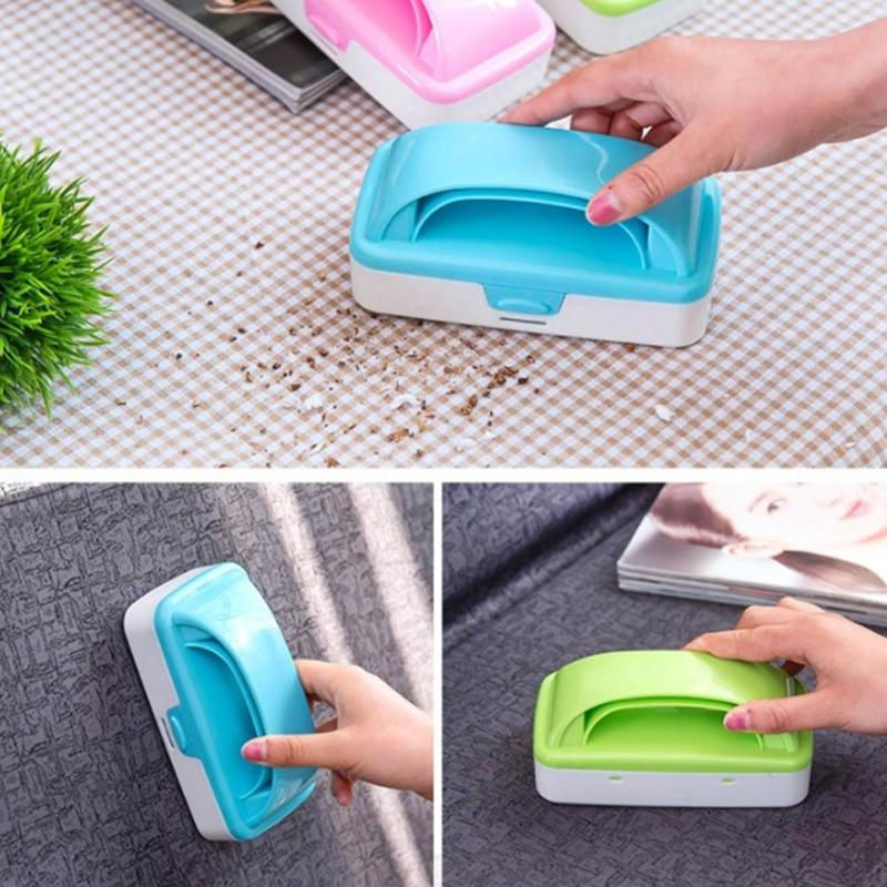 Handheld Carpet Brushes Table Sofa Bed Crumb Sweeper Roller Home Cleaner Collector Roller For Home Cleanin image