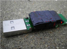 Free Shipping!!! IC Test Socket adapter Burn Block 980020-48-P2 SMD TSOP48