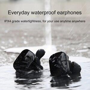 Image 4 - Baseus W02 TWS Bluetooth אוזניות אלחוטי אוזניות עם מיקרופון אינטליגנטי מגע שליטה דיבורית Auriculares עבור טלפון