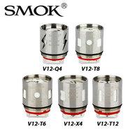 3pcs SMOK V12 Coil Head V12 Q4 V12 X4 V12 T6 V12 T8 V12 T12 0