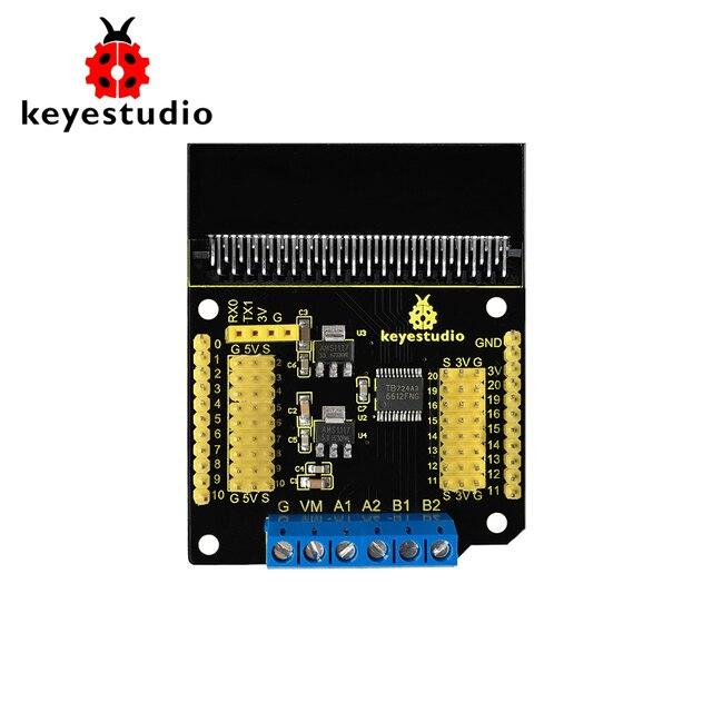 Keyestudio Ổ Đĩa Động Cơ Breakout Ban Khiên Đối Với Micro: Bit