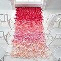 Pétalos de rosa de calidad Superior 500 unids Hojas De Seda Partido Decoraciones de la Boda Confeti de la Tabla Decoración Del Festival 16 colores Pétalo de la Flor