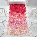 Rose Petals Top quality 500pcs Silk  Leaves Wedding Decorations Party Festival Table Confetti Decor 16 colors Flower Petal