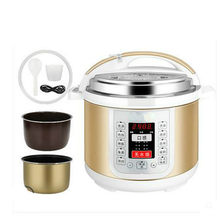 Electric Pressure Cookers Intelligent electric pressure cooker pressure cooker 4 / 5 L.(China)