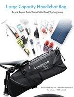 Lixada Bike Zadeltas 3-10L Grote Capaciteit Mountain Road Mtb Fiets Fietsen Tail Bag Storage Pack Fiets Onder seat Bag