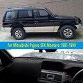 Автомобиль dashmats автомобиль для укладки аксессуары приборной панели крышки для Mitsubishi Montero Pajero 2 SFX 1991 1992 1993 1994 1995 1998 1999 1997
