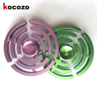 Finger Spinner Fidget Metal EDC Hand Triangle Gyro Hand Spinner For Autism ADHD Anxiety Stress Relief