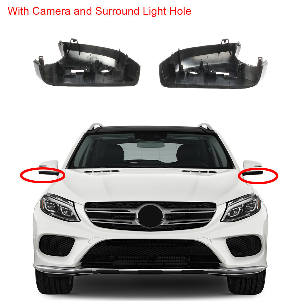 Left Door Side Wing Mirror Glass Heated Fit For Benz G-Class W463 ML GLE W166