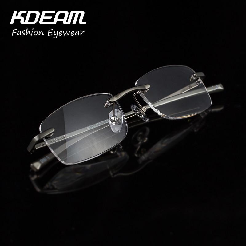 1b34a2ffb9b Aliexpress.com   Buy Luxury Reading Glasses for Women Aluminum Frame Men  Presbyopia Eyewear Italy Design Metal Fashion Comfortable KDEAM Brand R004  from ...