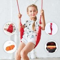 1 Set Of Indoor Outdoor Children Patio Swing Net Toys Hanging Hammock Chair Balkon Hamac Hamak Garden Furniture