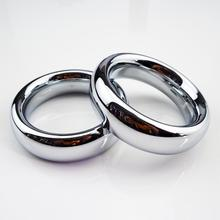 45mm 200g stainless steel penis ring scrotum stretcher cock ring ball stretcher sex ring sex products