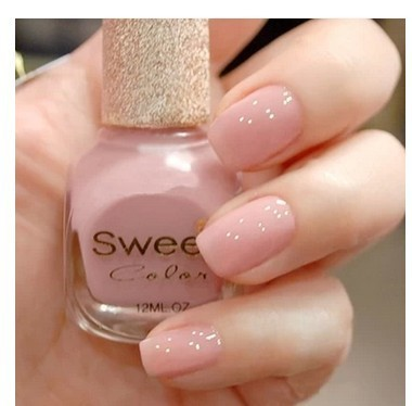 Elegant nude color green nail polish 12ml white meat was hand-in ...