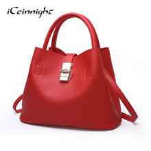 iCeinnight Free Shipping Luxury Handbag Women Bags Designer Brand Famous Shoulder Female Vintage Shoulder Bag Fashion Messenger