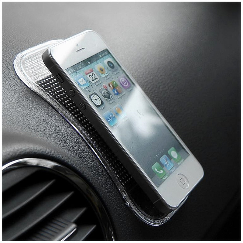 Dashboard Sticky Pad Non slip Car Magic Anti Slip Mat Holder Cell Phone Car Phone Holder Stand for iPhone 6S Xiaomi 4X Universal in Phone Holders Stands from Cellphones Telecommunications
