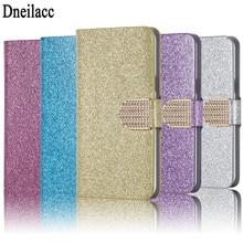 Dneilacc Fashion Bling Glitter Flip Case Cover For BQ BQS 5050 5060 5057 5035 5201 5059 5037 5022 5065 6050 5515 crocodile genuine leather phone case for bq 5035 velvet 5060 slim 5065 choice 5070 magic 5515 wide 6050 jumbo flip stand cover