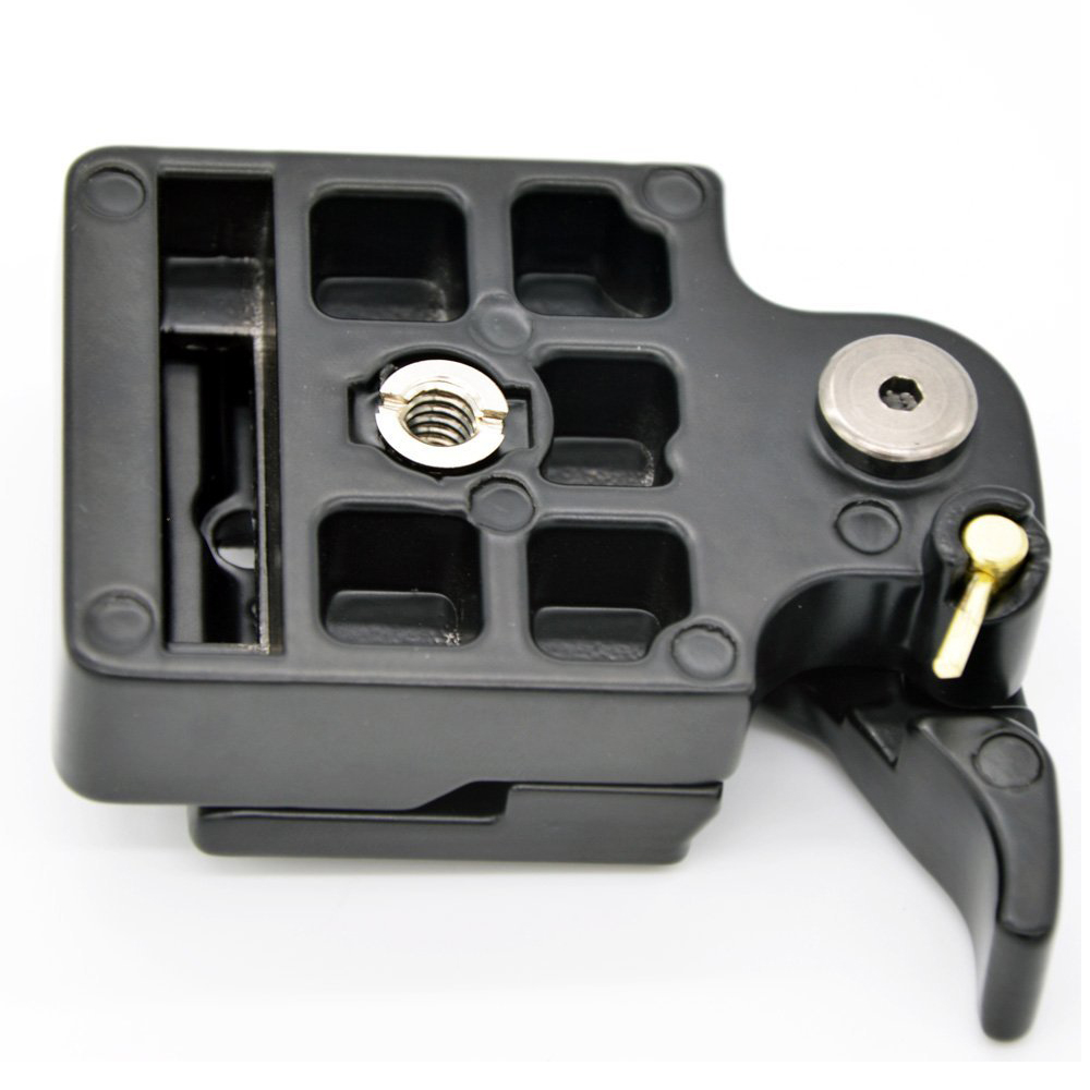 SCLS RC2 System Quick Release Adapter for Manfrotto Tripod 200PL-14 QR Plate(Black)
