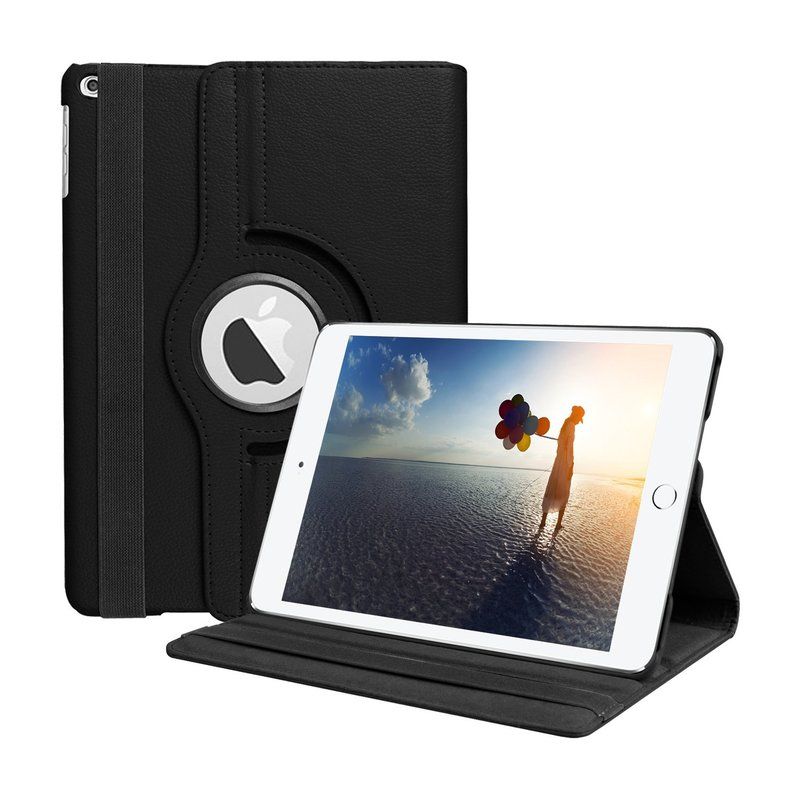 купить Case Cover For iPad 2017 9.7inch 360 Degree Rotating Stand PU Leather Magnetic Smart Case For iPad 9.7 2018 A1823 A1822 Cases по цене 325.03 рублей
