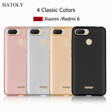 ФОТО phone case xiaomi redmi 6 case rubber silicone armor shell protective phone cover for xiaomi redmi 6 case for xiaomi redmi 6