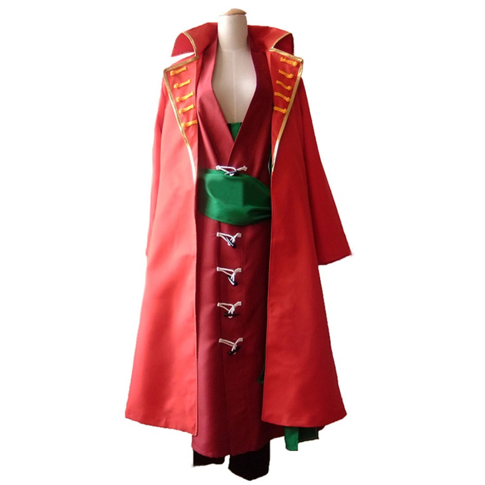 2018 ONE PIECE Roronoa Zoro cosplay clothes after two years Theatrical version Z cosplay costume