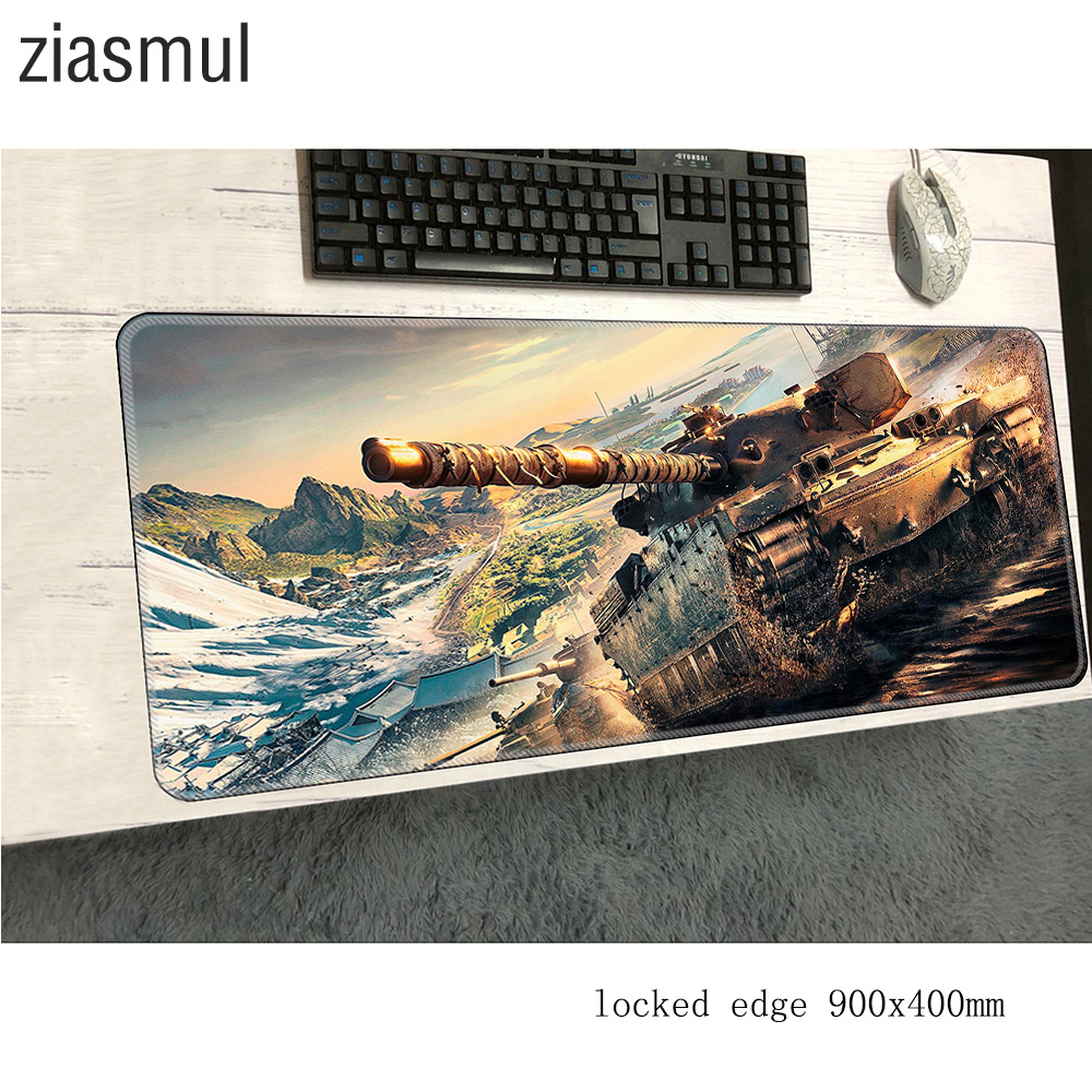 World Of Tanks Mouse Pad 900x400x2mm Mats Best Seller Computer Mouse Mat Gaming Cheapest Large Mousepad Keyboard Games Pc Gamer