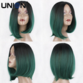 Synthetic Wig 10 inch Short Synthetic Lace Front Wigs For Women 200 g Wigs Sexy Female Short Haircut Grey Black Cosplay Wigs