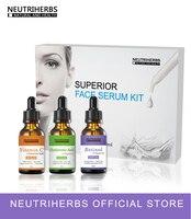 Collagen Vitamin C Retinol Face Serum Hyaluronic Acid Skin Whitening Moisturizer Anti Wrinkle Aging Serum Kit