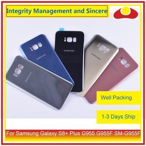 Image 5 - Original pour Samsung Galaxy S8 + Plus G955 G955F boîtier de SM G955 batterie porte arrière couvercle en verre coque châssis
