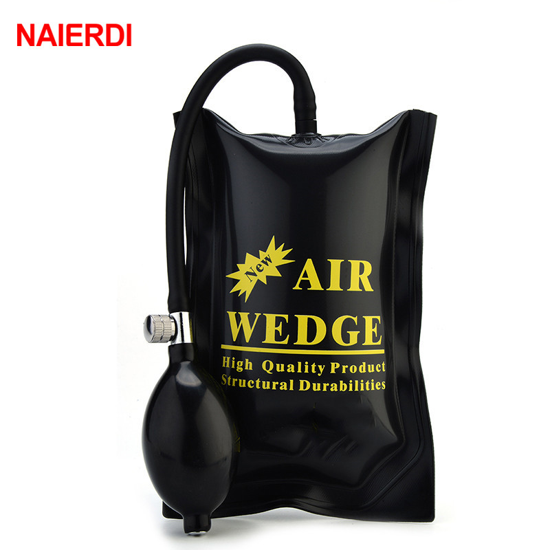 NAIERDI 3PCS Newest PUMP WEDGE LOCKSMITH TOOLS Big Size Auto Air Wedge Airbag Lock Pick Set Open Car Door Lock Hardware Tools