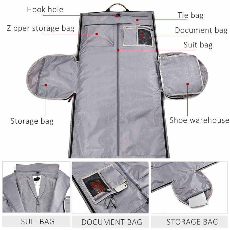 Многофункциональные мужские дорожные сумки, мужская сумка, портативные спортивные сумки для путешествий для мужчин, Большая вместительная сумка на плечо, рюкзак для костюма