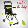 Yuwell 2000 discapacitados sillas de ruedas para sillas de ruedas para los discapacitados ancianos plegable portátil luz desactivar de aluminio silla de ruedas