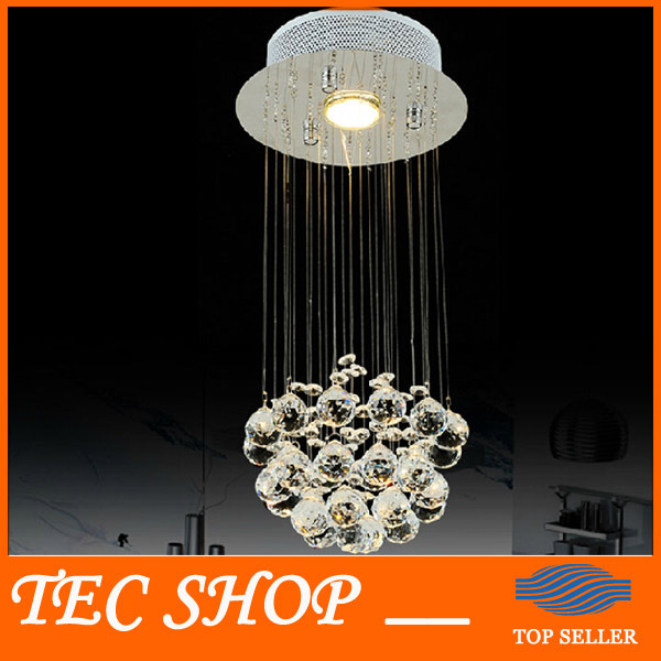 Best Price LED Crystal Ceiling Lights Hanging Wire Crystal Lamps Entrance Hallway Crystal Light Restaurant Chandelier Bar Lamp cardigan fobya cardigan