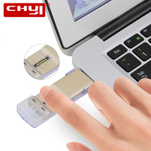 CHYI High-speed Recognition Fingerprint Encrypted Pen Driver Security Memory Stick Pendrive OTG Micro USB 2.0 Flash Drive