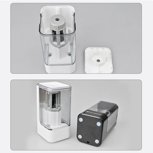 Image 2 - Electric Pencil Sharpener High Quality Automatic Electronic And One Hole Plug In Use Safety For Kids